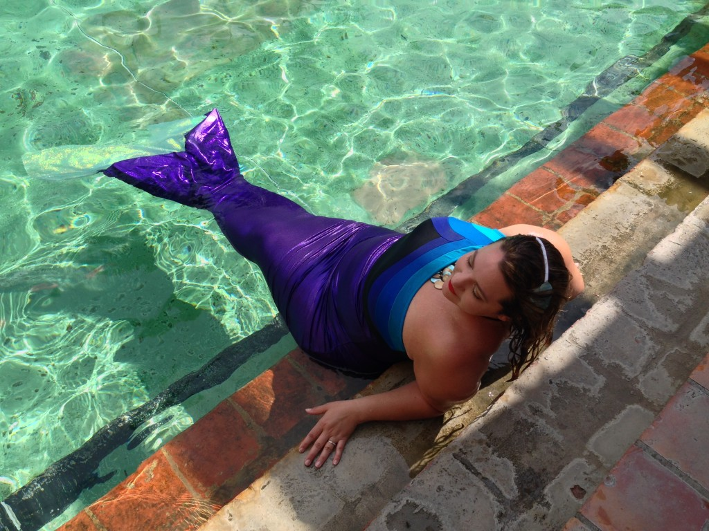 Relaxing my fins